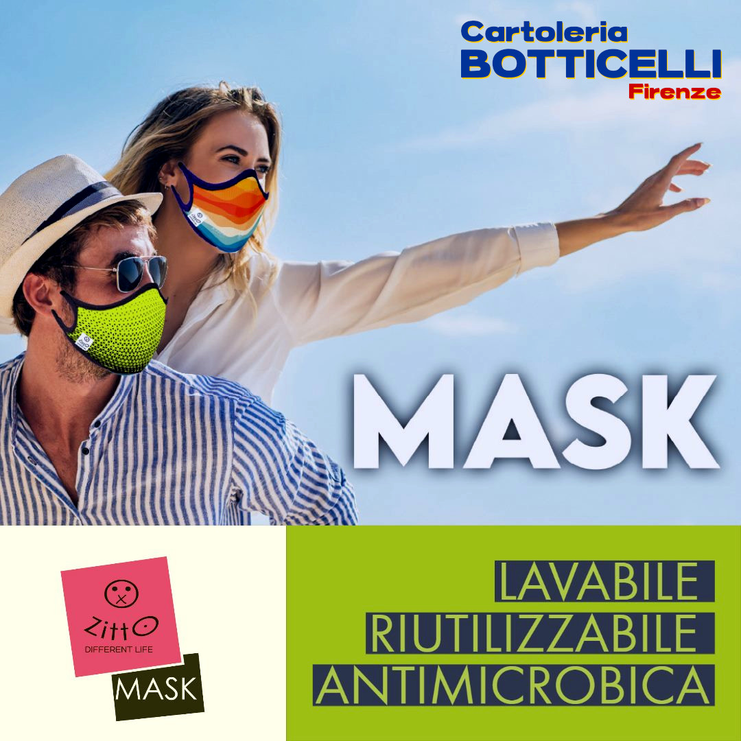 Zitto Mask da Cartoleria Botticelli Firenze