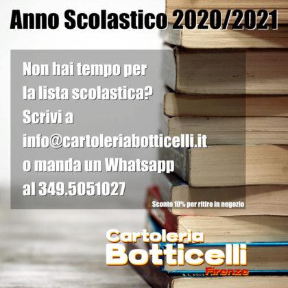 Lista Scolastica 2020